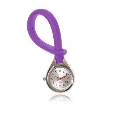 Color4care® Nurse watch Loop, purple