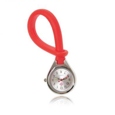 Color4care® Nurse watch Loop, red