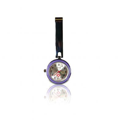 Purple Classic Nurse fob watch