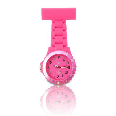 Pink nurse watch, ICE