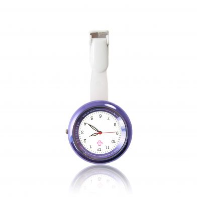 infinity, purple nurse fob watch