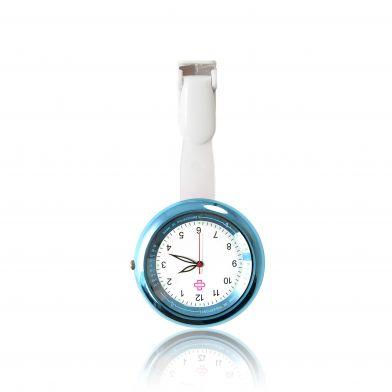 Infinity, blue nurse fob watch