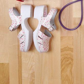 Shoes, stethoscopes ...
